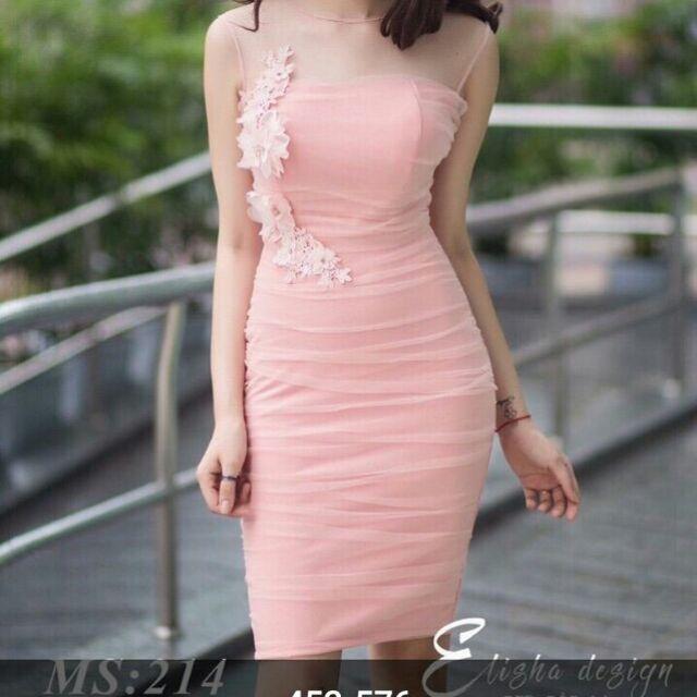 Váy đầm ren dự tiệc thời trang nữ đi học công sở đi làm mặc nhà đều ok combo2 cái