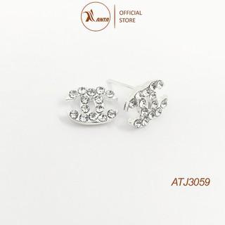 Hoa tai bạc 925 thời trang xinh xắn cho nữ ANTA Jewelry - ATJ3059
