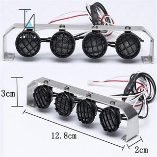 Gift Tabitha Metal LED Light Super Bright Bar White Roof Lamp Spotlights for RC 1:10 Axial D90 SCX10 RC4WD TAMIYA CC01 RC Rock Crawler
