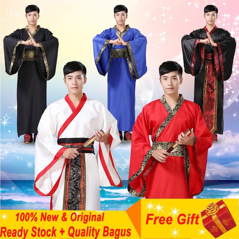 Bộ trang phục cổ trang lịch sử phong cách Hanfu dành cho nam
