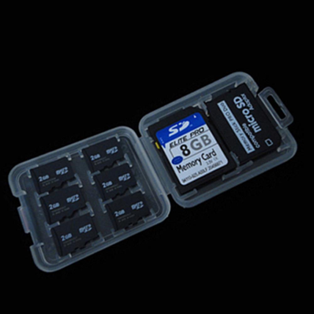 Hộp chứa thẻ nhớ SD / MS / Micro SD tiện lợi cho bạn