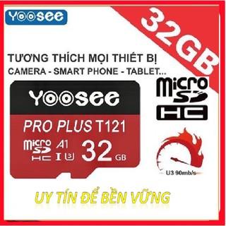Thẻ nhớ Yoosee 32gb chuyên dùng cho Camera