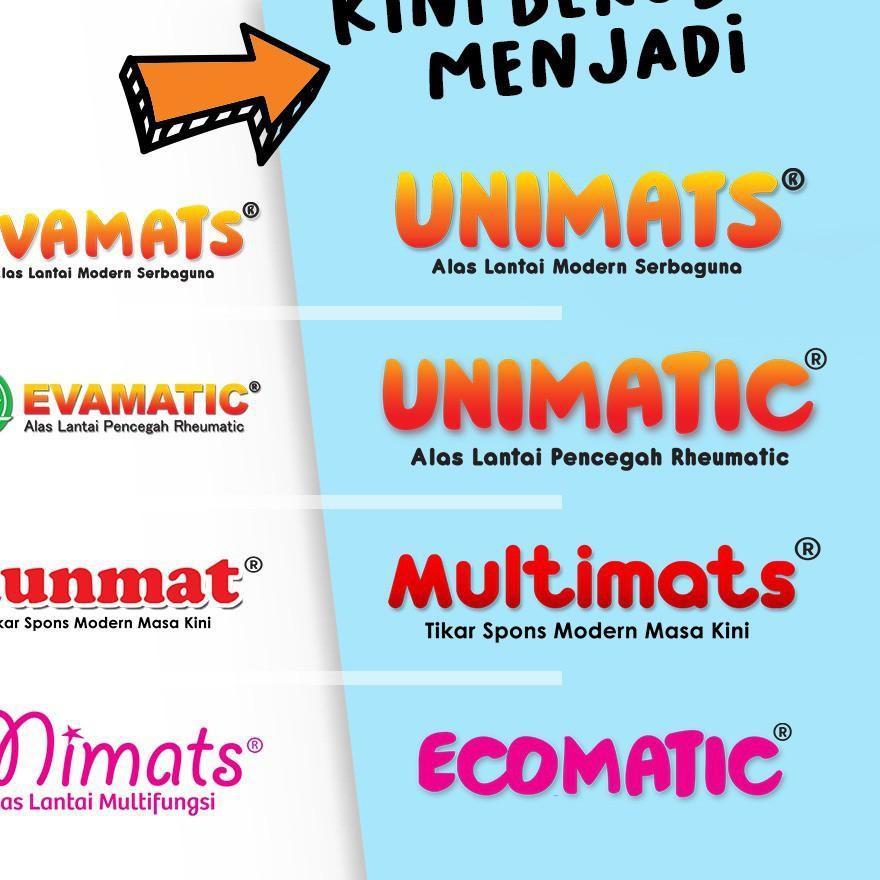 Jenntoys – Thảm trải sàn Evamats UNIMATS hình trái cây động vật vận chuyển Dino
