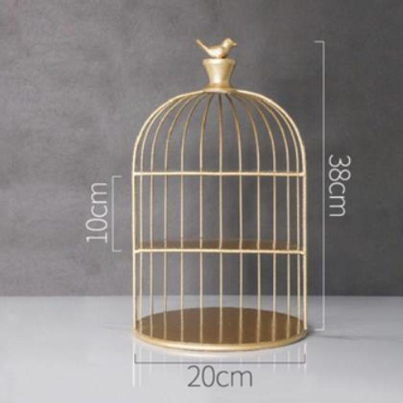 Kệ mỹ phẩm lồng chim, giá mỹ phẩm cao cấp