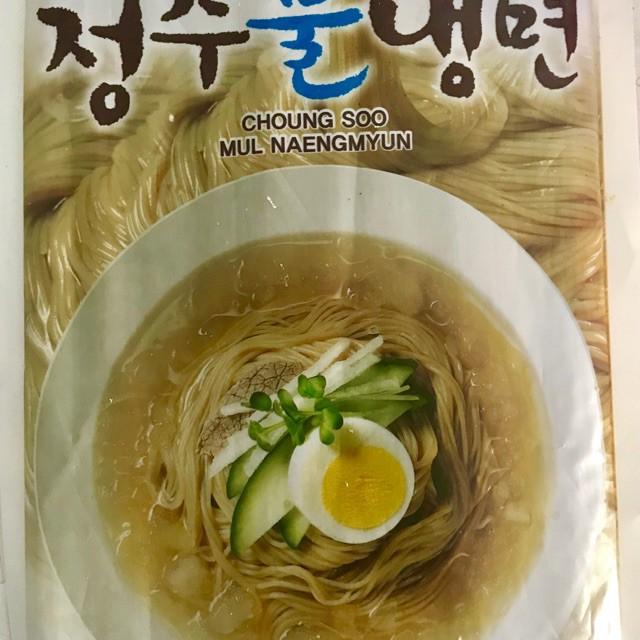 Mỳ lạnh nước Hàn Quốc 720gr Mỳ lạnh nước Hàn Quốc 720gr