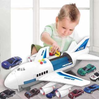 Large Music Story Telling Plane Simulation Passenger Plane Baby Chinese Language