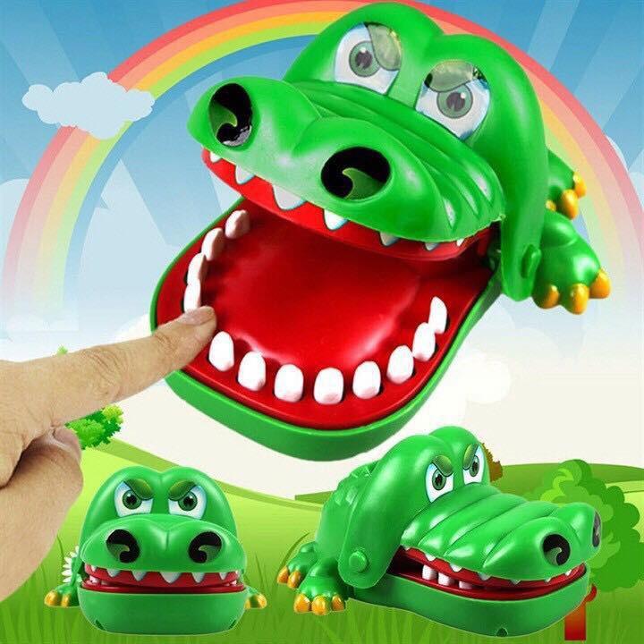 Bộ đồ chơi khám phá răng cá sấu vnm1
