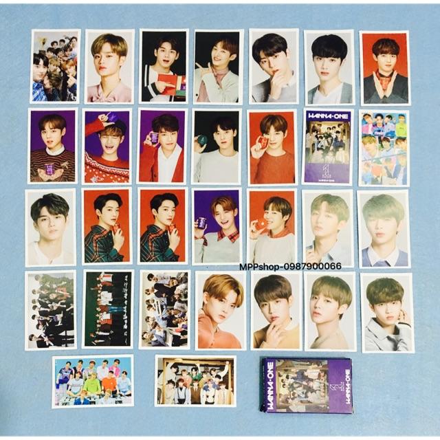 MOLO card WANNAONE gồm 30 ảnh khác nhau