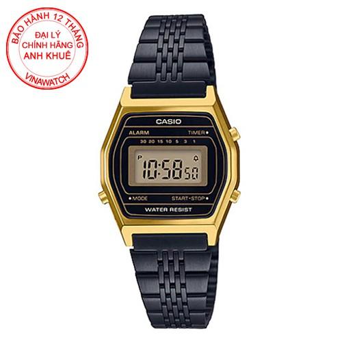 Đồng hồ Casio Nữ dây kim loại điện tử LA690WGB-1DF