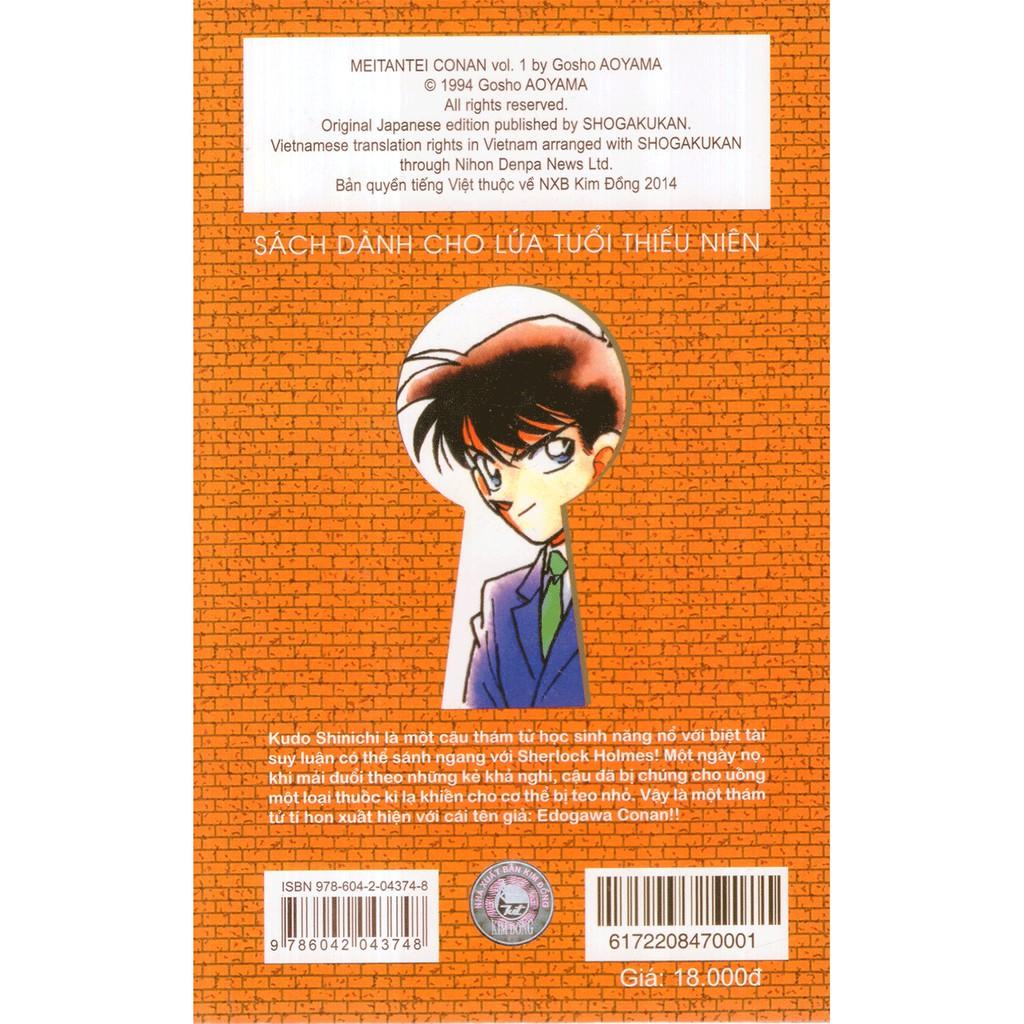 Sách - Thám Tử Lừng Danh Conan - Tập 1 giảm chỉ còn 18,000 đ
