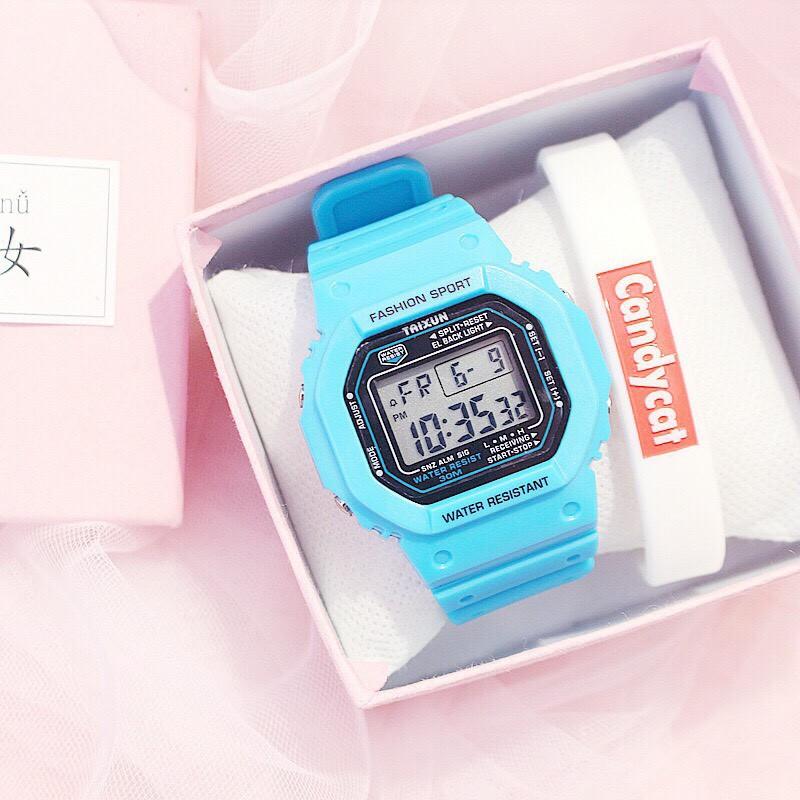 Đồng hồ điện tử nam nữ Taixun cực hot MS2463