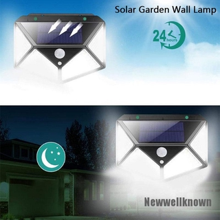 [Newwellknown 0318] Waterproof Portable LED Motion Sensor Solar Power Outdoor Garden Lamp Yard Light
