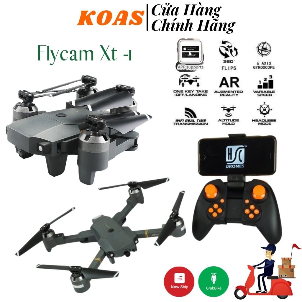 Flycam Mini Điều Khiển Từ Xa XT-1 Kết Nối Wifi Quay Phim Chụp Ảnh Full HD  720P Bảo Hành 1 Đổi 1 - Thiết bị quay phim