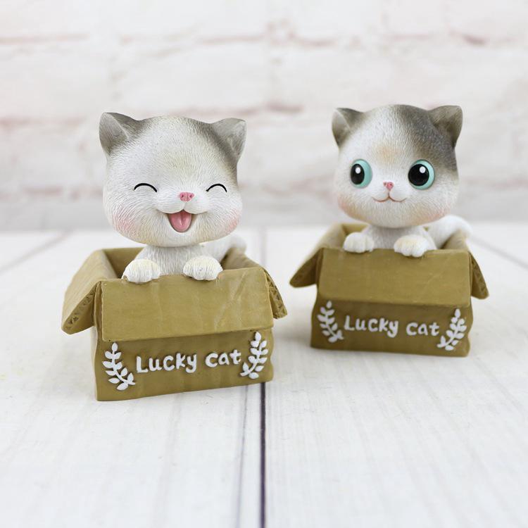 Mèo Nhồi Bông Đáng Yêu