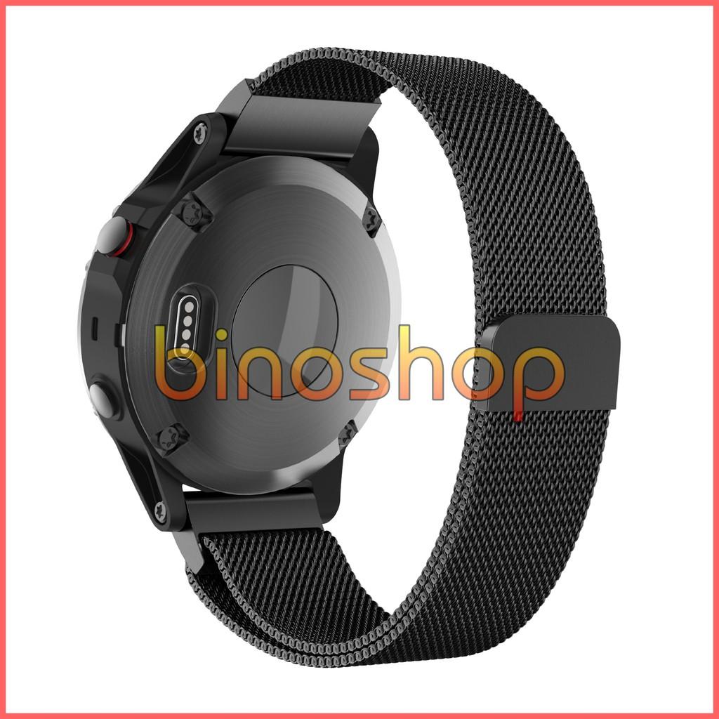 Dây đeo nam châm Cho Đồng Hồ Thông Minh Garmin Fenix 5/5S (22mm)