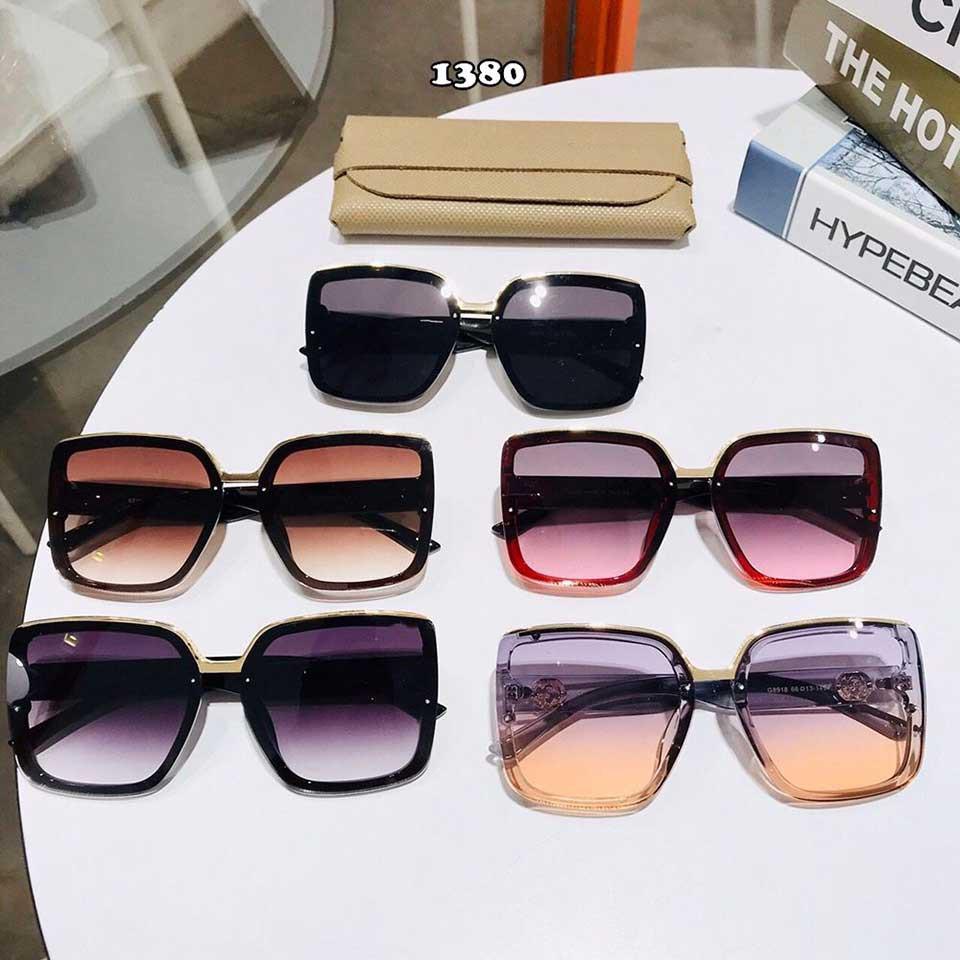 Mắt kính nữ vintage nhiều màu❤️kính mát nam nữ thời trang MÃ SH1380