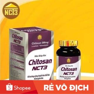 Giảm cân viên giáp xác Chitosan Nct3 hiệu quả