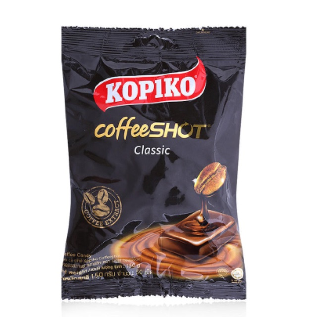 Kẹo cà phê Coffeeshot Kopiko 150g