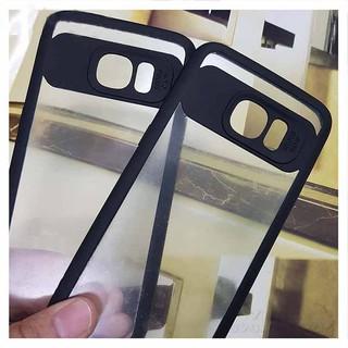 Ốp lưng Samsung S7edge viền màu trong suốt