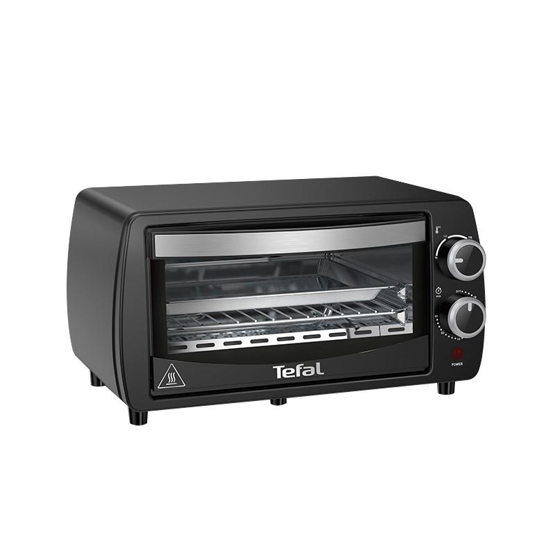 Lò nướng bánh mì điện tử Tefal OF3108 (9.0L) Sưởi bằng thạch anh 230 ℃ 60 Min Hẹn giờ 800W Đen