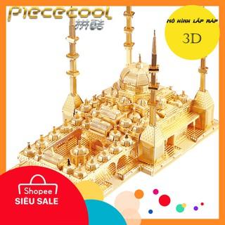 FLASH SALE Đồ chơi xếp hình, lắp ráp,Mô hình lắp ráp 3D kim loại Piececool Nhà thờ Hồi giáo Aymani Kadyrova – Chechnya