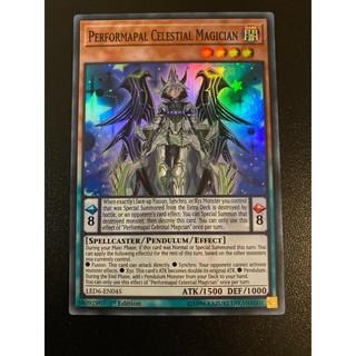 THẺ BÀI YUGIOH BEL- Performapal Celestial Magician – Super Rare 1st Edition