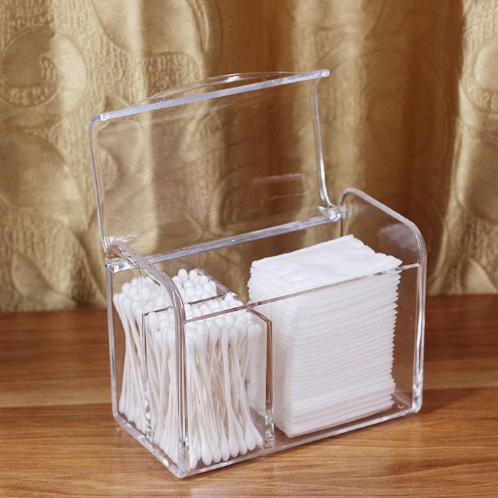 [Mẫu 6] Hộp đựng bông tăm và bông tẩy trang nắp kín - 2482425 , 1059665819 , 322_1059665819 , 135000 , Mau-6-Hop-dung-bong-tam-va-bong-tay-trang-nap-kin-322_1059665819 , shopee.vn , [Mẫu 6] Hộp đựng bông tăm và bông tẩy trang nắp kín