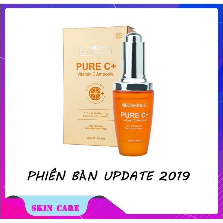 Tinh Chất Chống Lão Hóa, Làm Mờ Thâm Nám Pure C + Vitamin C ampoule 30ml New 2019