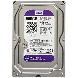 Ổ cứng 500GB TÍM CHUYÊN DỤNG CAMERA CHUẨN SATA 3 - 500GB TÍM - Ổ cứng 500GB