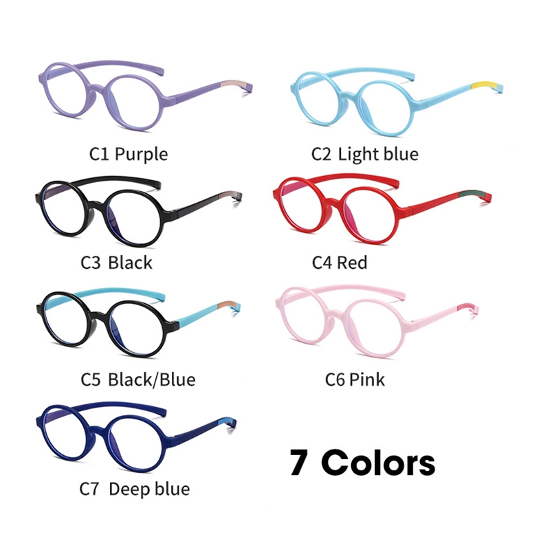 Silicone Children's Blue Light Glasses