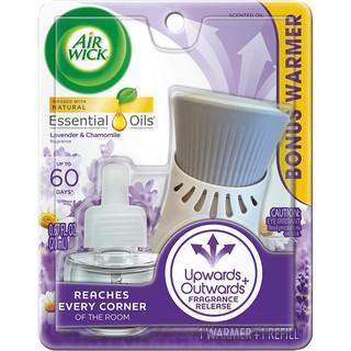 Bộ Tinh dầu thơm phòng Airwick  cắm điện dùng trong 30 - 60 ngày.