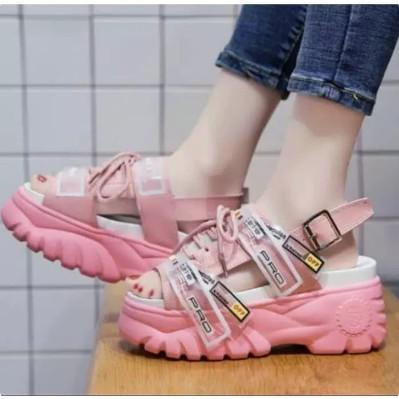Giày Sandal Đế Xuồng Chống Trượt Phong Cách Hàn Quốc Dành Cho Bé Gái Elana Sdw334