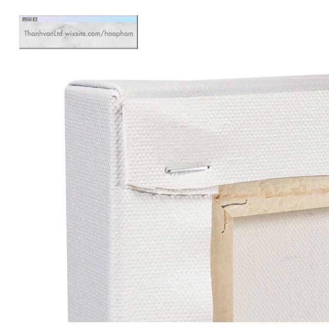 Toan vẽ tranh Canvas vải Hàn Quốc 30x40 cm [Hàng Chất Lượng Vải Cotton Hàn Quốc]