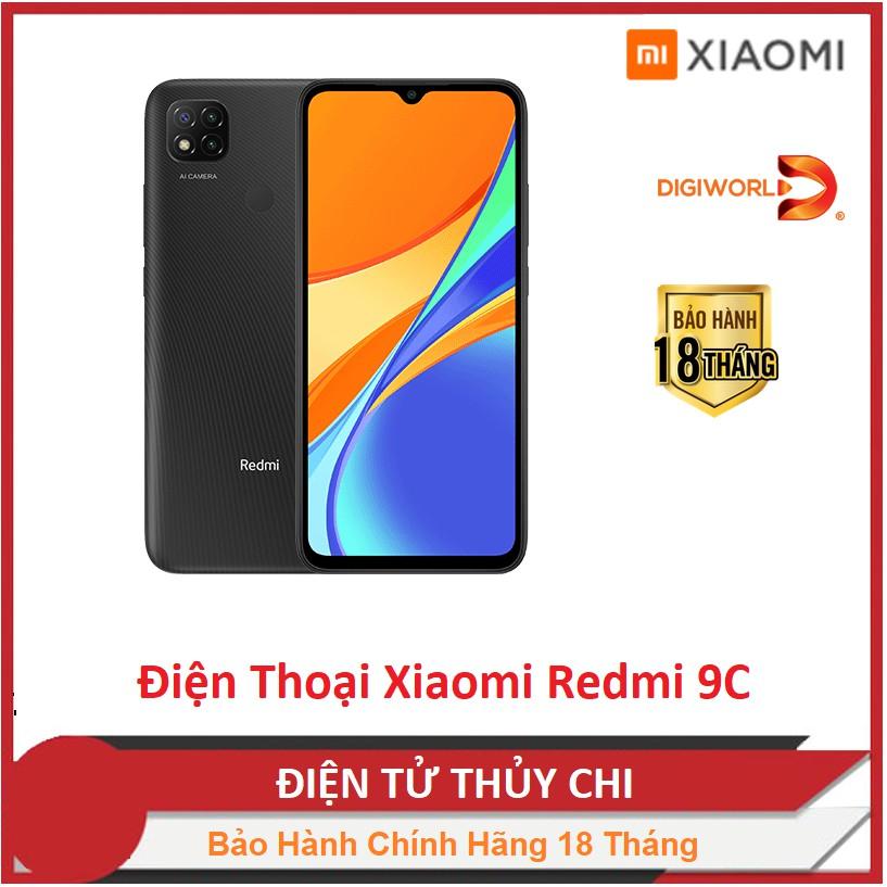 Điện thoại Xiaomi Redmi 9C (2GB/32GB) - Hàng Chính Hãng Digiworld Mới 1