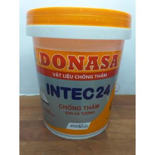 Vật liệu chống thấm sàn và tường Donasa Intec 24 _ Thùng 18kg