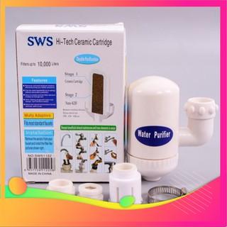⚡ Máy Lọc nước sạch, đầu lọc nước Water Purifier ngay tại vòi khử màu, khử mùi, tạp chất, vi khuẩn