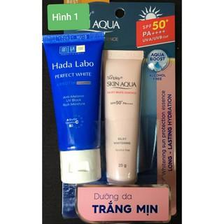 Kem Chống nắng Sunplay Skin Aqua Silky White SPF50+, PA++++