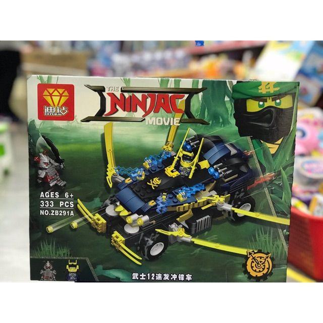 LEGO Ninja movie zb291 (A-B)