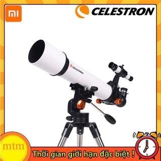 Kính thiên văn khúc xạ Xiaomi Celestron SCTW 80 - 805A Libra kèm túi đựng tặng kẹp điện thoại thumbnail