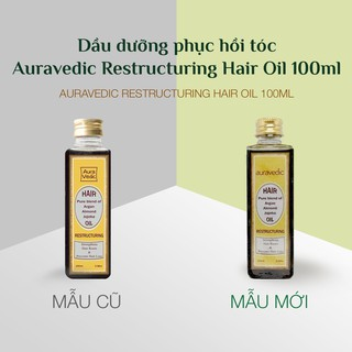 Dầu dưỡng phục hồi tóc Auravedic Hair Oil 100ml thumbnail