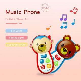 Điện thoại đồ chơi có nhạc cho bé