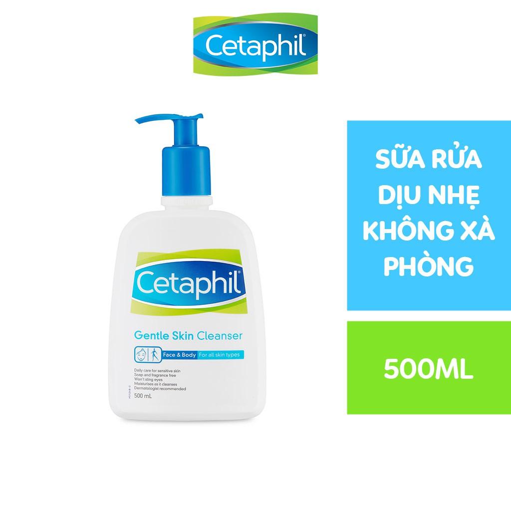 Sữa rửa mặt làm sạch dịu nhẹ Cetaphil Gentle Skin Cleanser