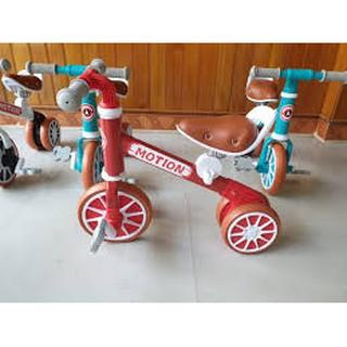 Xe chòi chân vận động kiêm xe đạp 3 bánh Motion 025