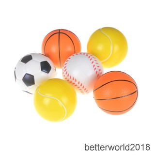 [BEW] 7cm PU Sponge anti stress ball surprise bouncy toy slow rising football kid gift [OL]