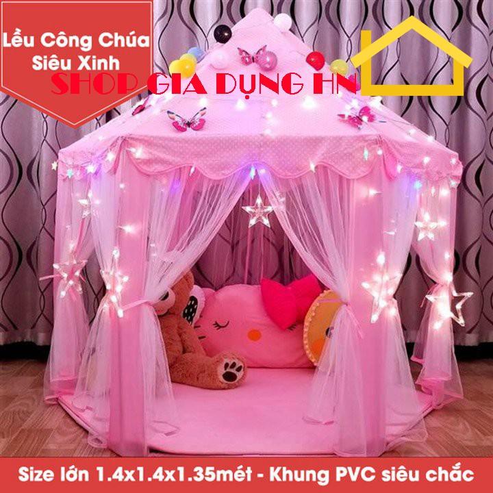 Lều Công chúa dễ thương – hàng Size Lớn-1.4×1.4×1.35 m