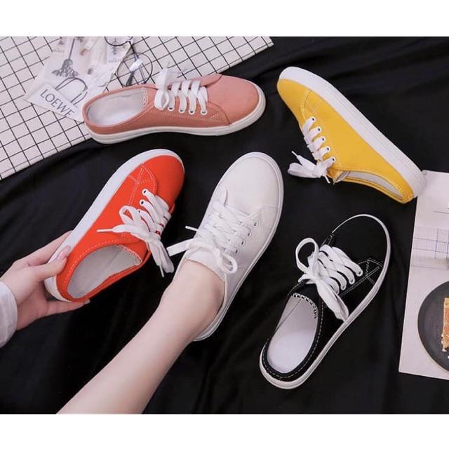 Giày sục thể thao nữ #125k (hàng sẵn size 37,38,39)