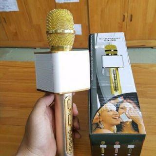[Mã ELFLASH5 giảm 20K đơn 50K] Mic hát karaoke SD-08 kèm loa Bluetooth loại 1