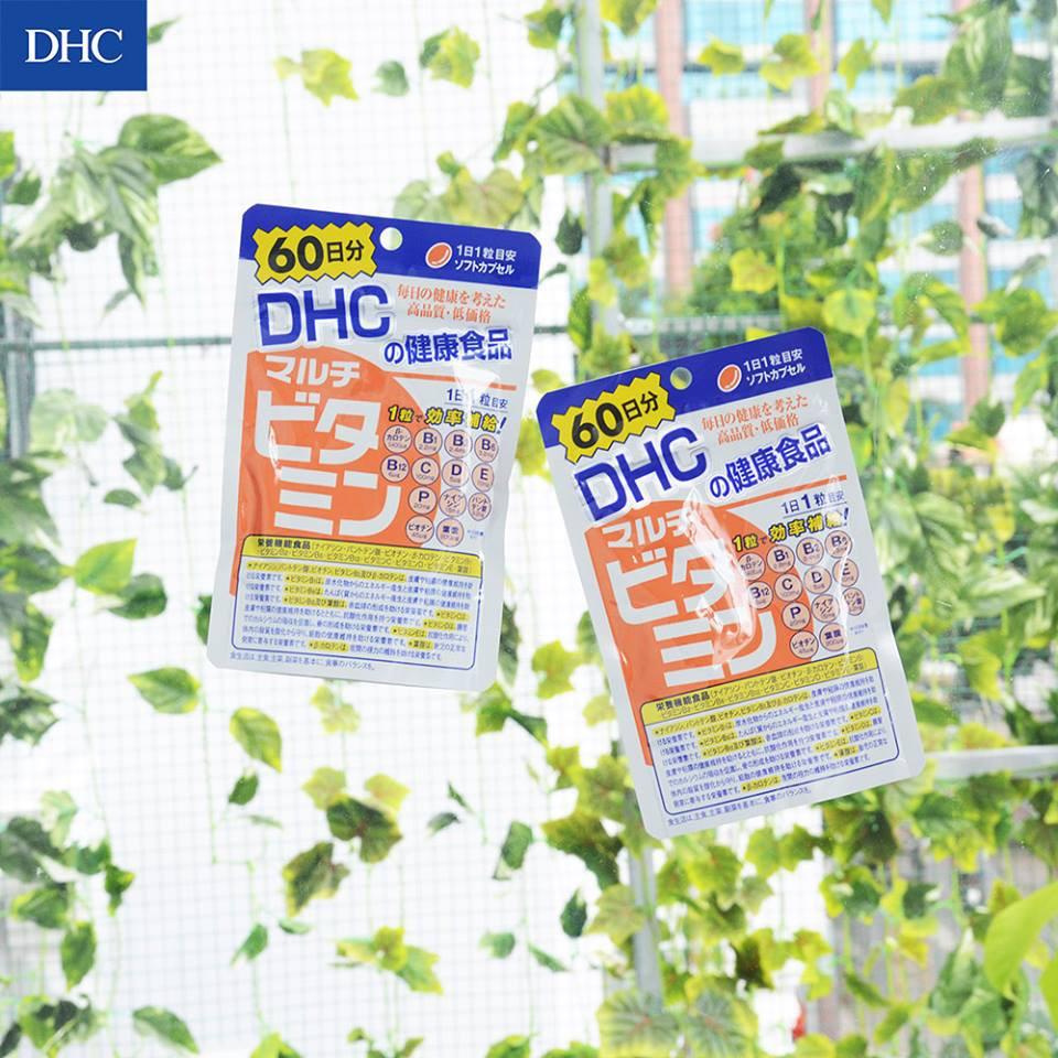 Viên Uống Bổ Sung Đa Vitamin Multi DHC 60 Ngày