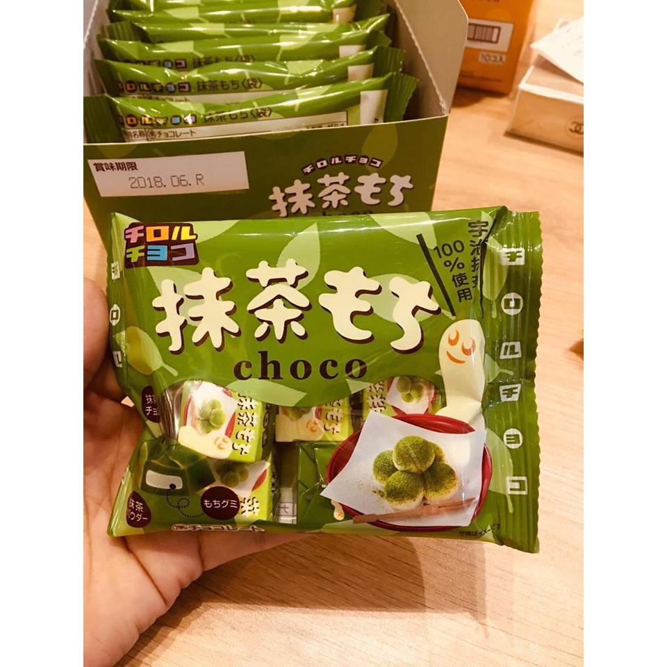 Kẹo mochi choco Nhật