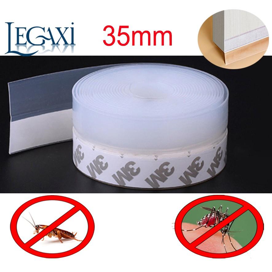 Ron Dán Chân Cửa Dài 2m Legaxi Ngăn Bụi, Muỗi, Gián Rộng 35mm SW20